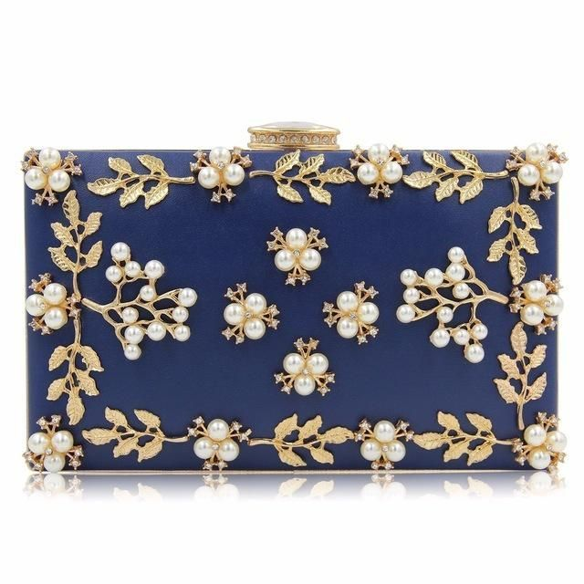 17862f9a55b7 Milisente Women Flower Bag Ladies Clutches Party Bags Female Beaded ...