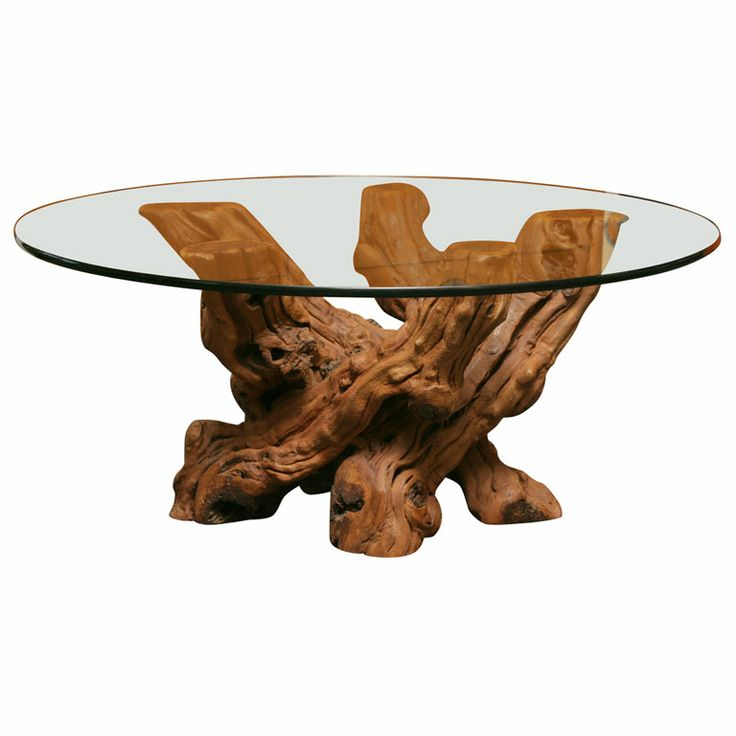 Get A Glass Top To Make A Table Out Of Our Driftwood