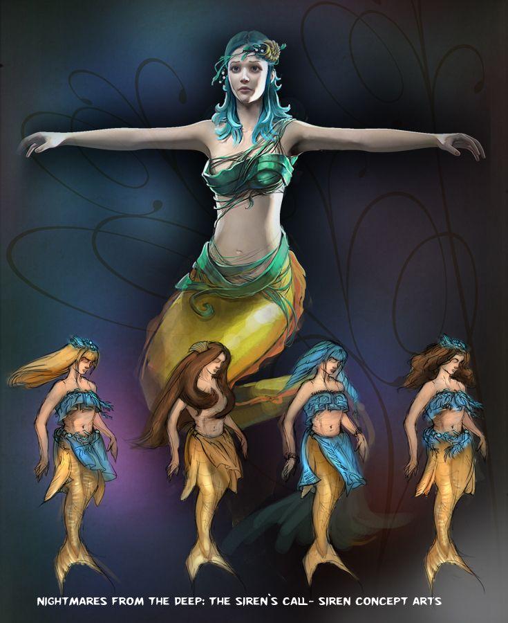 Beautiful Calliope herself! #nightmares #kraken #artifexmundi  www.facebook.com/NightmaresFromTheDeep    http://www.artifexmundi.com/page/piraci2