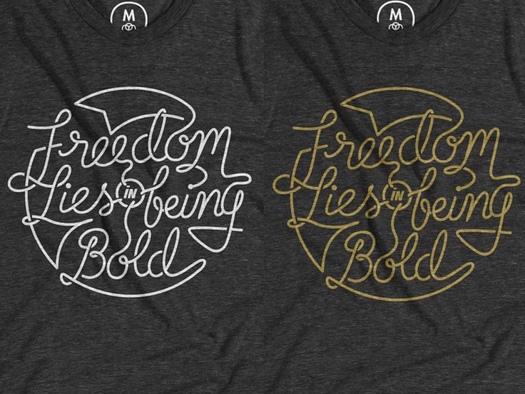 Freedom Lies In Being Bold by Ma'ruf Sungko Wahyu