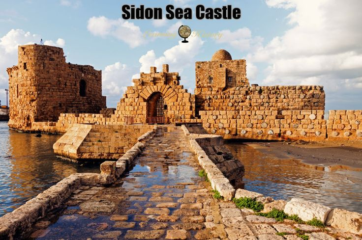 Sidon Sea Castle: Medieval Fortification in Lebanon #history | via @learninghistory
