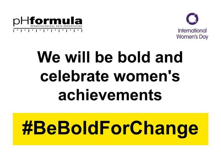 So which woman's achievement can you celebrate today - share with us! #BeBoldForChange