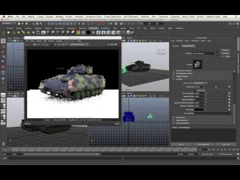 Arnold for Maya Tutorial - Cameras
