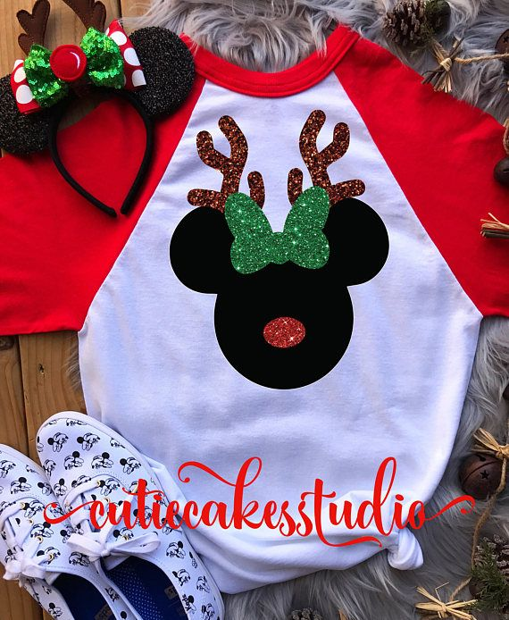 disney reindeer shirt disney Christmas shirt mickey's