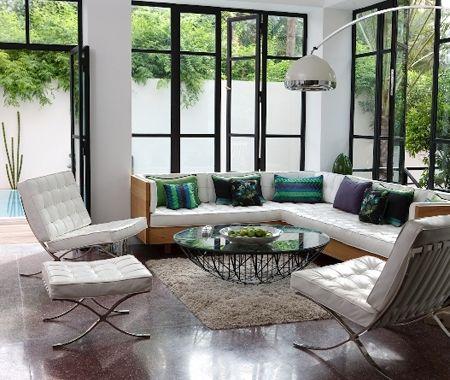 Sleek & Sunny Marrakesh Apartment   House & Home