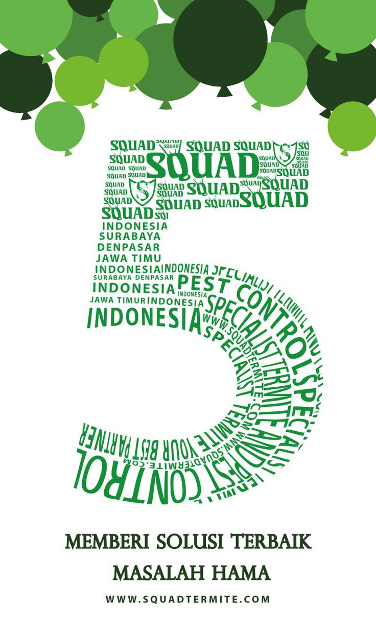 In Our 5th Anniversary, SQUAD INDONESIA appreciate all trust given to us so we still be the best solution for you. We will always innovate, be a moving forward company, and always be The Best from The Best. Thank You for all advise and cooperative.  Best Regards, Made Kristoforus I.P. Suradja Director of SQUAD Indonesia   #hallosquad #squadtermite #squadpest #cvsquad #squadindonesia #bali #surabaya #indonesia #pest #pestcontrol #termite #termites #termitecontrol #squadteam #anniversary…