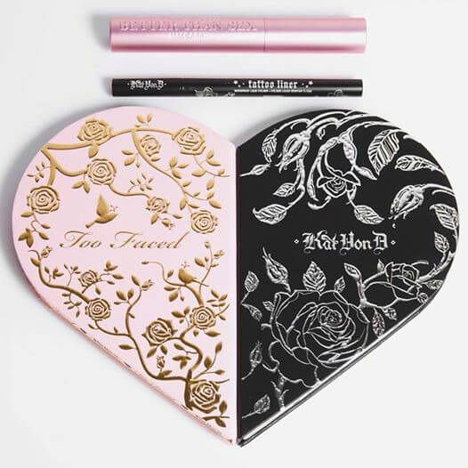 Kat Von D and Too Faced Cosmetics are trying to break your heart with their new collaboration.