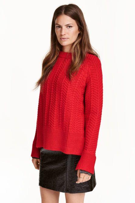 Pullover in maglia