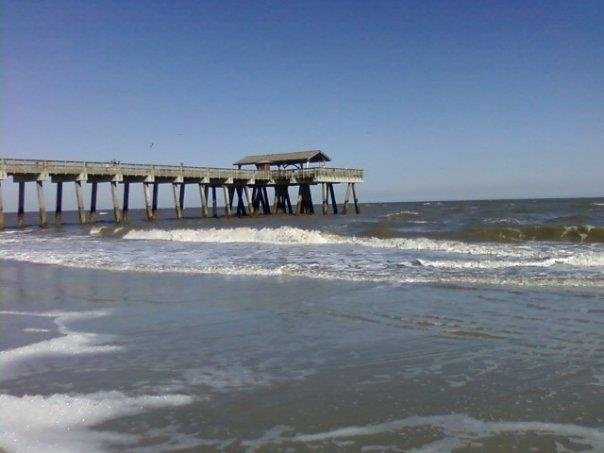 Tybee Island Pier. That's my beach!