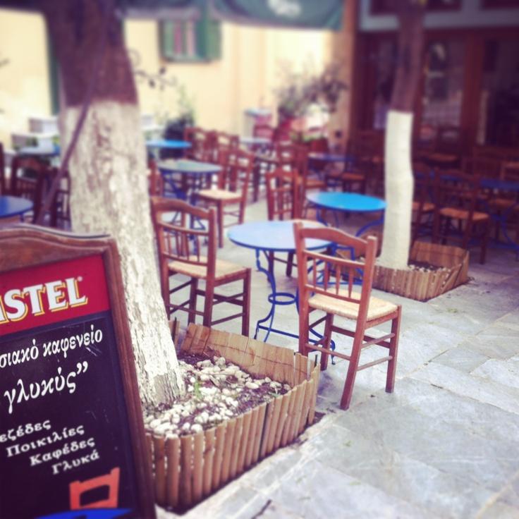 Glykis Kafenio in Plaka, Athens