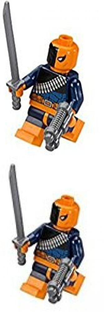 Pretend Play and Preschool 51028: Lego Dc Comics Super Heroes Batman Minifigure - Deathstroke With Sword And Gun -> BUY IT NOW ONLY: $33.25 on eBay!