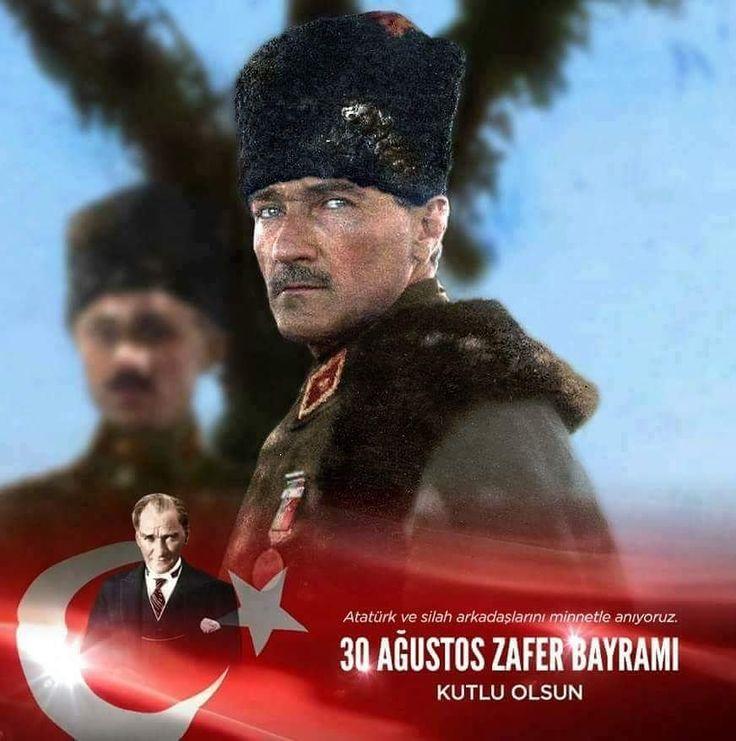 Bu mutlu günde zaferi bize yaşatan Atatürk ve silah arkadaşları ile kahraman Türk Ordusu'na şükran ve minnetlerimizi sunuyoruz. Zafer Bayramımız Kutlu Olsun
