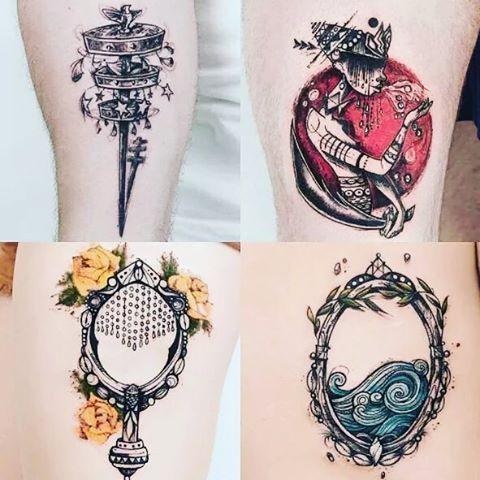 #bomdia #Axé ✡Pra quem estava a procura de Tatuagem para fazer... olha essas de Oxalá, Yansã, oxum ...