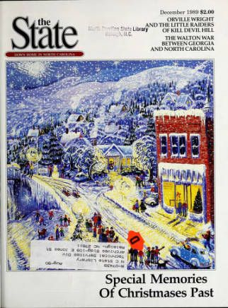 "The State Magazine issue dated December 1989 | That year, postage stamps cost 25 cents, the ""Velvet Revolution"" was occurring in Czechoslovakia, and ""Honey, I Shrunk The Kids"" was in theaters. 