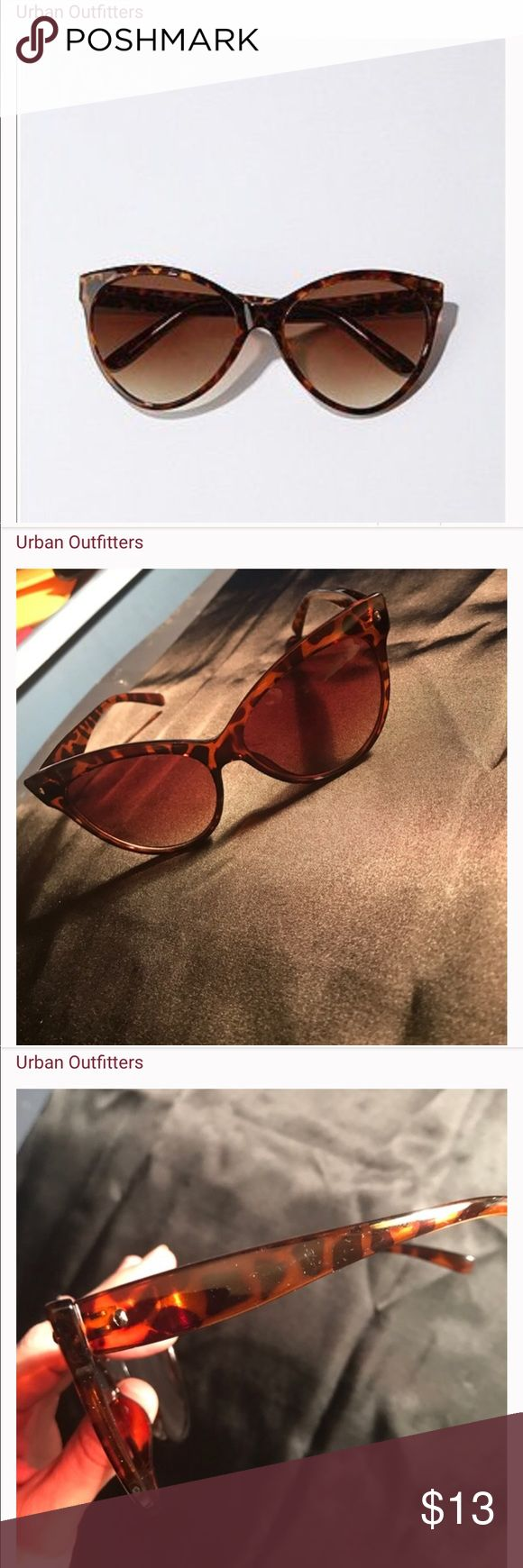 Oversized tortoise cat eye sunglasses! NWT. Host Pick! Thx! Urban Outfitters Accessories Glasses