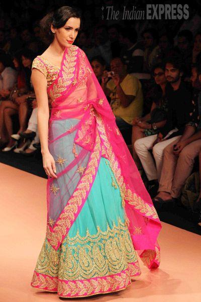 Nimsh Shah at Lakme Fashion week