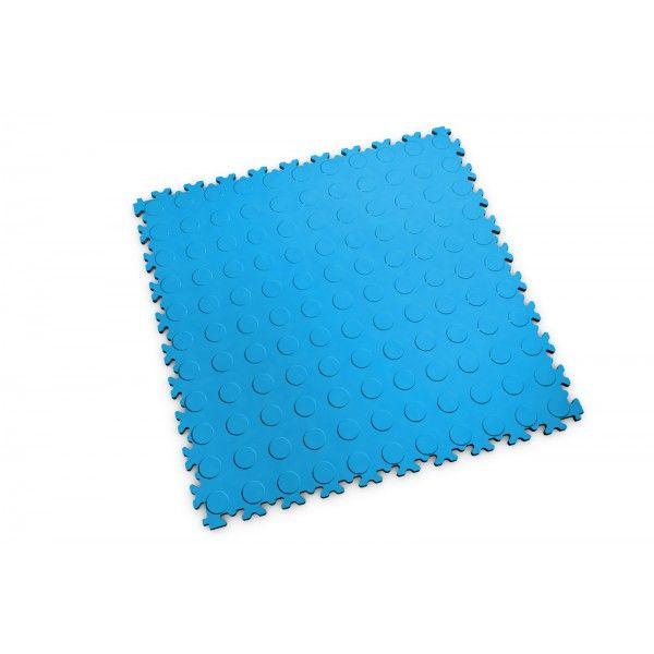 "Dalle PVC garage Fortelock 2080 Light Pastille ""Bleu Electrique"""