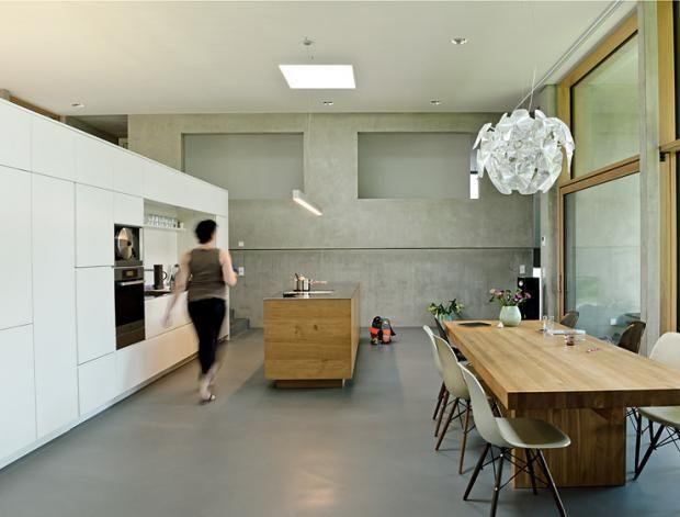 Küchen In Architektenhäusern: Dezente Ordnung