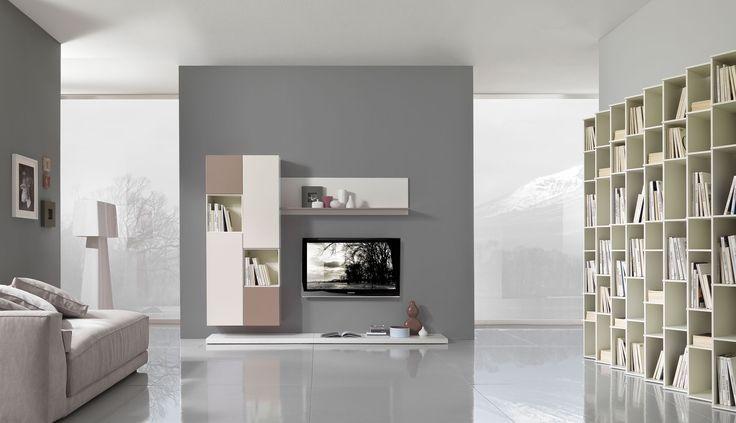 contemporary life in a home project http://www.giessegi.it/it/soggiorni-moderni-componibili?utm_source=pinterest.com&utm_medium=post&utm_content=&utm_campaign=post-soggiorni