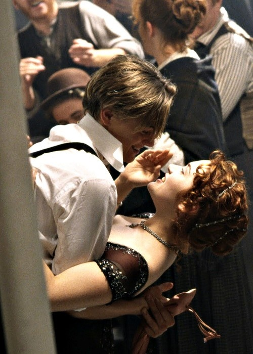 Jack and Rose dancing in Third Class