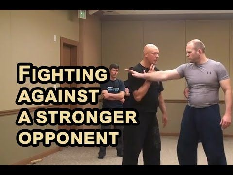 RUSSIAN SYSTEMA of hand to hand combat - Fighting against a stronger opp...