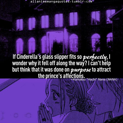 If cinderella's glass shoes fit so perfectly then why'd it fall off? Nana