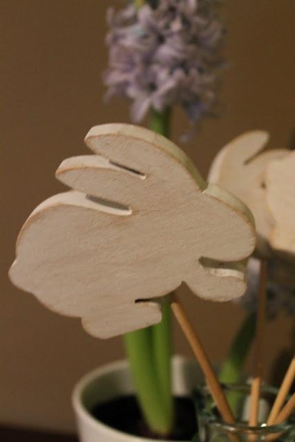Pasqua,coniglietti bianchi