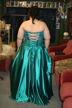 We create dresses for the larger women as well