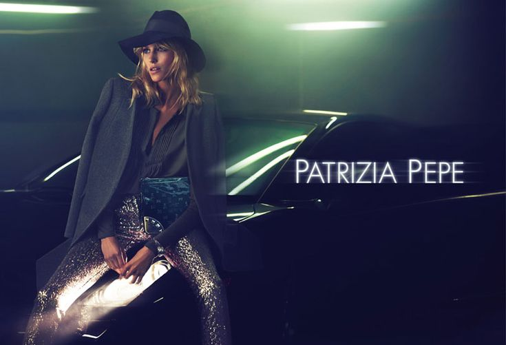 Anja Rubik Is Seventies Chic for Patrizia Pepe's Fall 2012 Campaign by Mert & Marcus: Because, Anja Rubik, Editorial, Patrizia Pepe, Marcus, Ad Campaigns, Fashion Campaigns