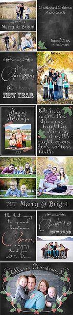 chalkboard-christmas-photo-cards-collage by imtopsyturvy.com, via Flickr