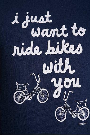 Bike rides.