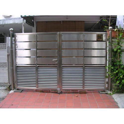 ss grill design for door  | 500 x 375