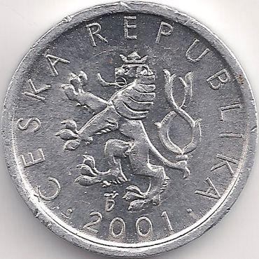 Motivseite: Münze-Europa-Mitteleuropa-Tschechien-Koruna-0.10-1993-2003