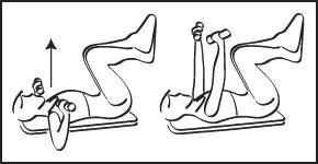 Muscles sollicités : Grand pectoral, partie médiane et avant du deltoïde Triceps brachial.