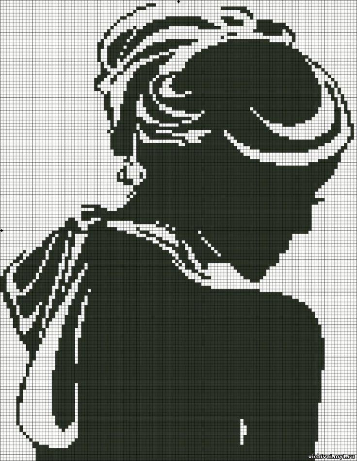 Картинки вышивка девушки крестиком