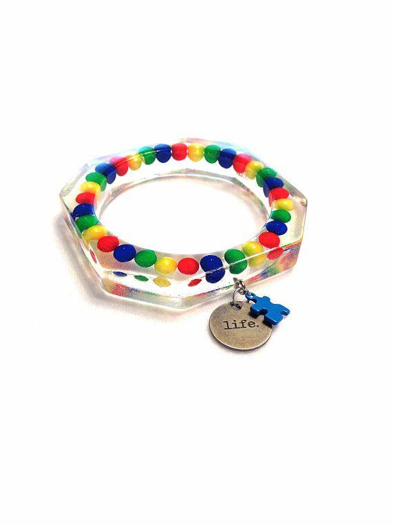 Autism Awareness Bracelet  Autism Bracelet  Life by Barysto