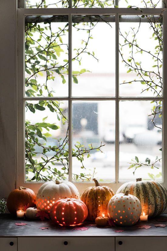 pumpkin lanterns DIY | designlovefest