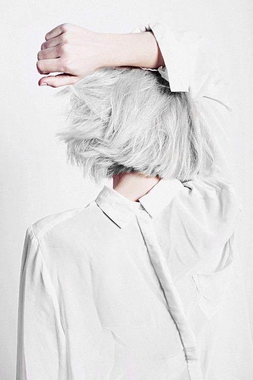White love #hair #hairstyle #white #bob