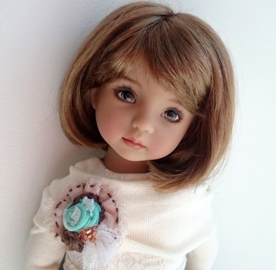 Дашина весна, кукла Диана Эффнер / Коллекционные куклы Дианы Эффнер, Dianna Effner / Бэйбики. Куклы фото. Одежда для кукол