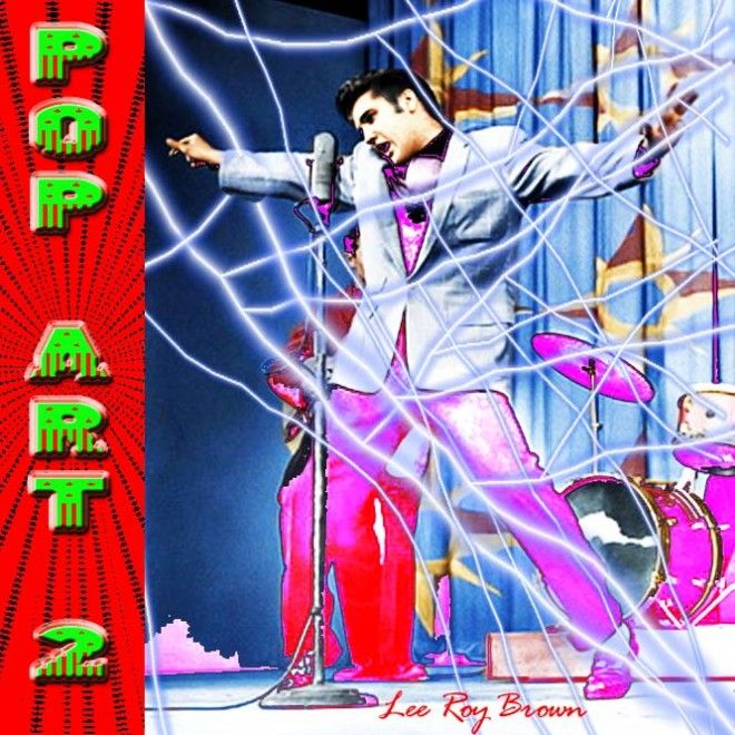 """""""POP Art 2"""" is a COLLECTION of ELVIS & Elvis Related Digital Art Work by Lee Roy Brownthat has previously appeared over the World Wide Web. Lee Roy Brown's STUNNINGDigitalArt Work is collected here into one place for easy access and newly-titled for deeper reflection as you browse these Digital Paintings at your leisure. Please CLICK this Link for Your SPECIAL Preview... https://payhip.com/b/yjwp"""