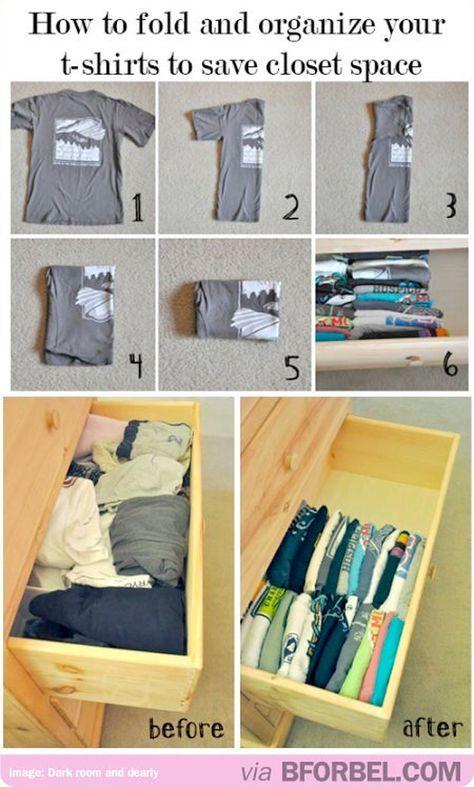 Come piegare biancheria intima e magliette: idee salvaspazio | donneinpink magazine