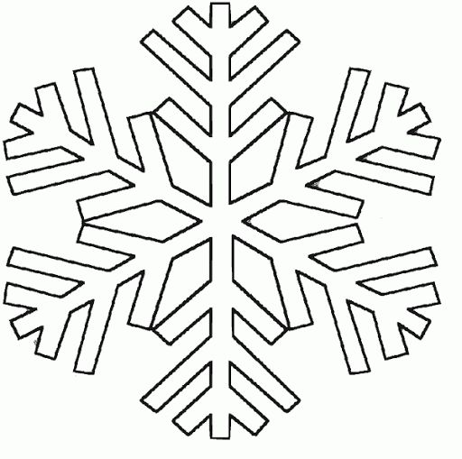 Plantillas Copos De Nieve Para Imprimir on Cut Out Worksheets For Kindergarten