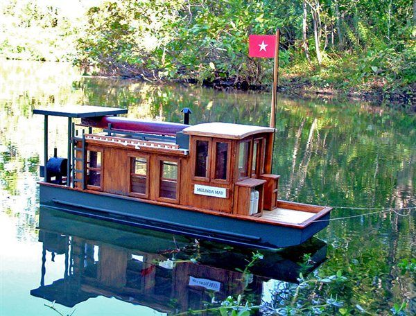 Pontoon boat plans woodworking projects plans for Boat house designs plans