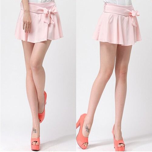 Sweet mini skirt sexy skirts express bow dress kawaii short dresses  - Thumbnail 2