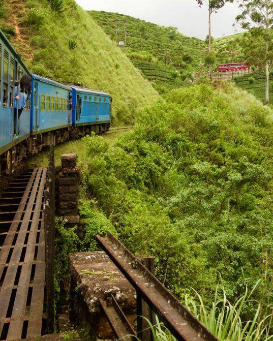 The Kandy to Ella train in Sri Lanka. #VisitSriLanka