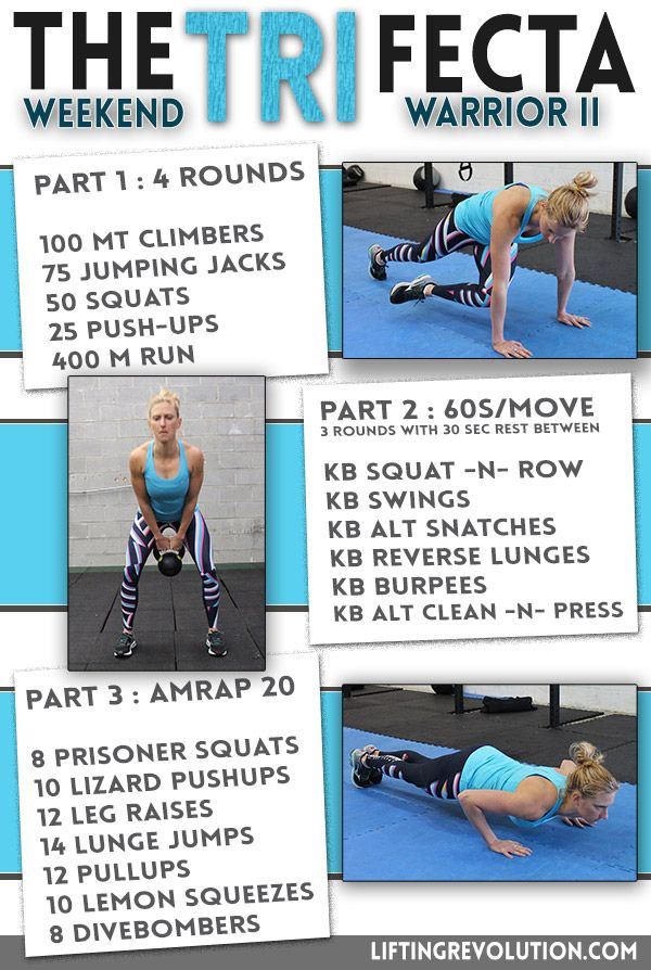 Trifecta Workout: Cardio/Kettlebells/Boot Camp style all in one. Intense total body workout #workout #bootcamp #kettlebells