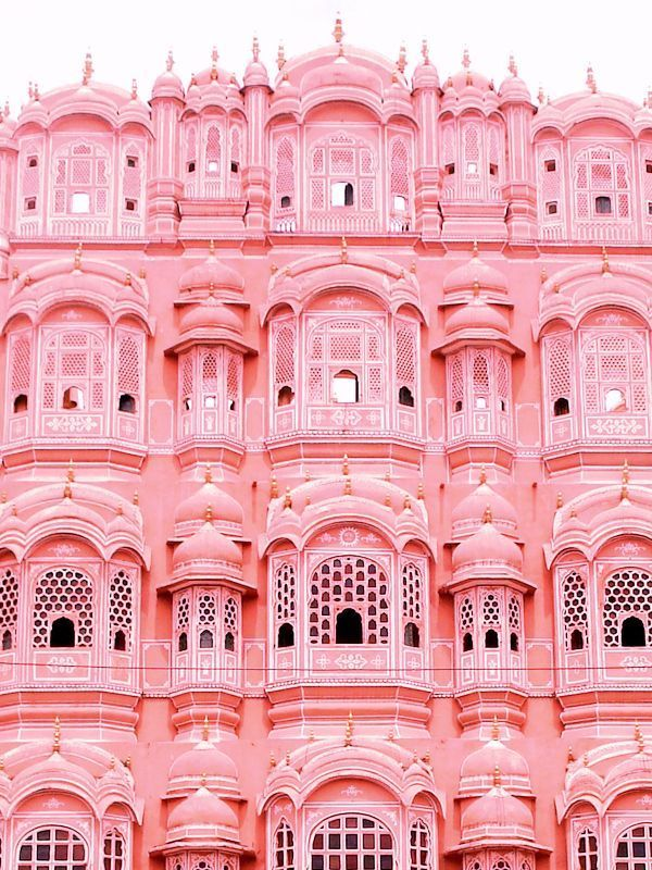 OVADIA & SONS — Palace of the Winds, Jaipur #travel   World of color,  Travel, Art and architecture