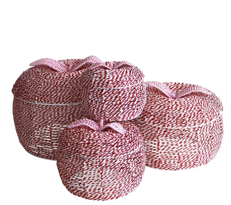 Rasberry Apples - beautiful storage for girls.