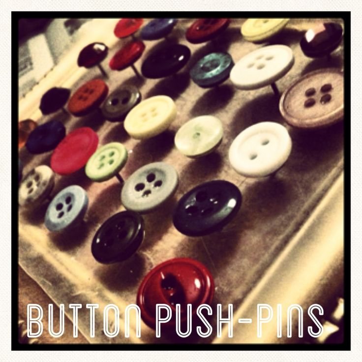 81 best images about push pins decorative pins tacks for Decorative pins for crafts