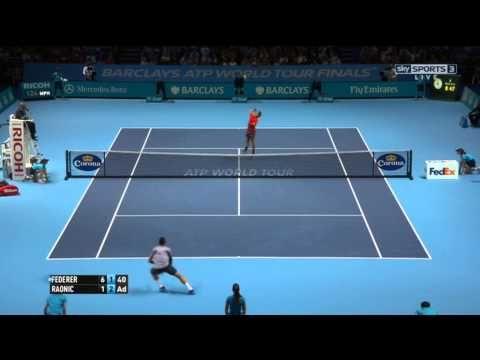 Résumé vidéo Federer Raonic Masters Londres 2014 - http://www.actusports.fr/123783/resume-video-federer-raonic-masters-londres-2014/